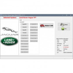JR0002 Jaguar XJ + LR002 OBD