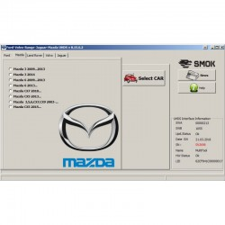 Mazda change KM by OBD (MAP1)
