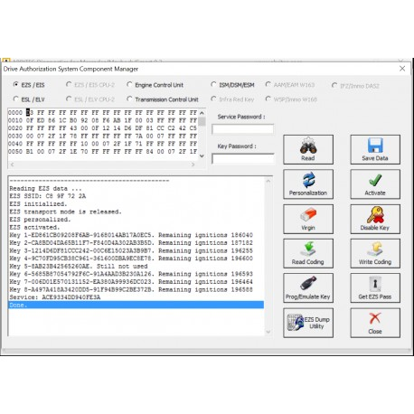Full software for Mecedes MN020,21,26