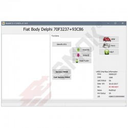 Fiat Body MM, Siemens, Delphi OBD (FTP2)
