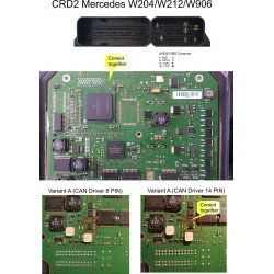 EU0015 Mercedes ECU CRD2 (Delphi), CRD3, IAW 8Fx boot mode