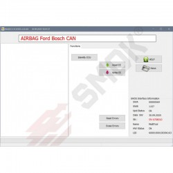 EU0043 Ford Bosch AirBag CAN OBD 2005-2018 with EEprom (95080, 95160, 95320, 95640)